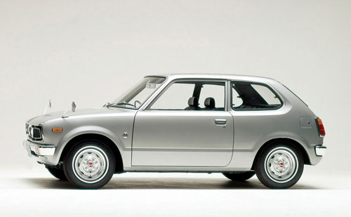 1972-honda civic