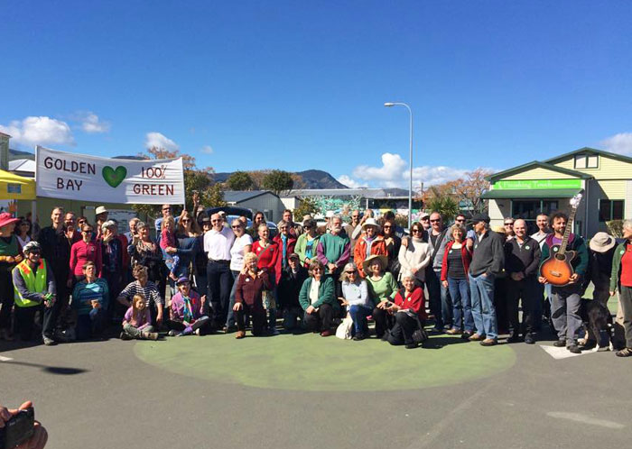 Golden Bay Climate Change March