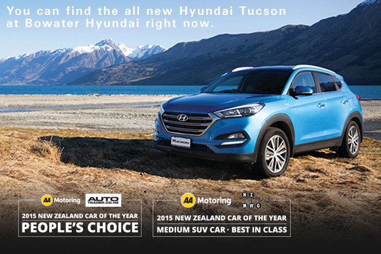 The Hyundai Tucson cleans up