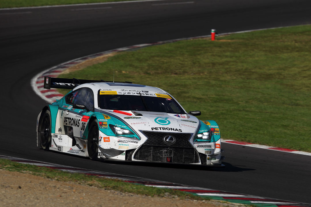 Lexus RC-F race car